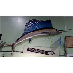 TAXIDERMY SWORDFISH