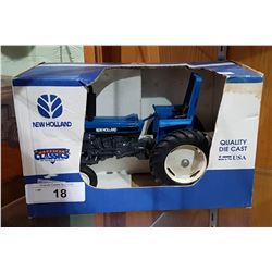 NEW HOLLAND DIE CAST TRACTOR IN BOX