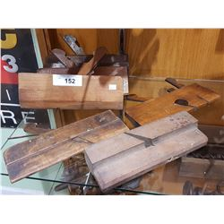 6 ANTIQUE MOULDING PLANES