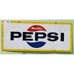 ORIGINAL PORCELAIN PEPSI SIGN