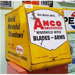 VINTAGE ANCO COUNTER TOP WIPER BLADE CABINET