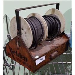 1940'S BELDON SPARK PLUG WIRES DISPENSER