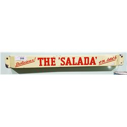 1950'S PORCELAIN SALADA TEA PUSHBAR