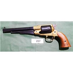 PIETTA MODEL 1858 NEW  ARMY BRASS FRAME .44-CALIBRE BLACK POWDER REVOLVER 9.5/10