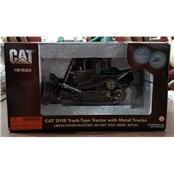 NEW IN BOX DIE CAST CAT DIIR TRACK-TYPE TRACTOR W/METAL TRACKS
