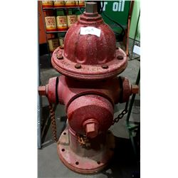 ANTIQUE CAST IRON FIRE HYDRANT