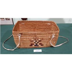 VINTAGE SALISH BASKET