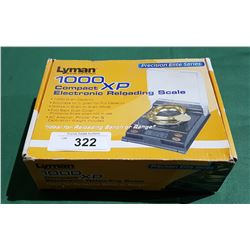 LYMEN PRECISION DIGITAL RELOADING SCALE IN BOX