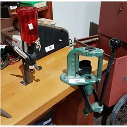 RCBS RS5 SINGLE STAGE RELOADING PRESS AND LEE POWDER AUTOPOWDER CHARGER