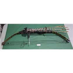 COMPOUND BOW W/4 HUNTING ARROWS