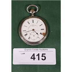 HENRY BIRKS N SONS LTD STERLING POCKET WATCH