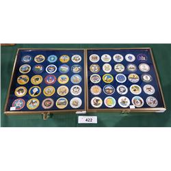 COMPLETE COLLECTION OF MEDALLIONS OF UNITED STATES