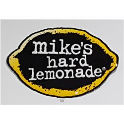 ORIGINAL MIKES HARD LEMONADE EMBOSSED TIN SIGN