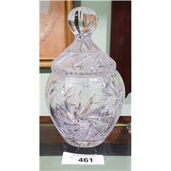 PINWHEEL CRYSTAL COOKIE JAR