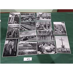 COLLECTION OF 13 NAZI PICTURES