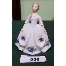 "ROYAL DOULTON MOONLIGHT ROSE 6"" FIGURINE"