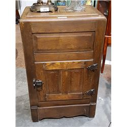 ANTIQUE ICE CHEST