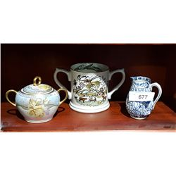 3 PCS OF COLLECTIBLE CHINA