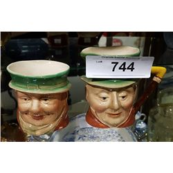BESWICK CHARACTER CREAM AND SUGAR