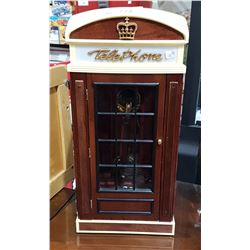 SPIRIT OF S.LOUIS TELEPHONE IN TELEPHONE BOOTH TABLE TOP MODEL