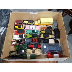 COLLECTION OF 25 VINTAGE DIE CAST CARS