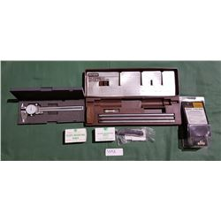 DIAL MICROMETER AND MISC GUN PARTS AND CLEANING KIT