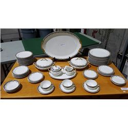 APPROX  56 PC LIMOGES CHINA SET