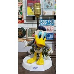 VINTAGE DONALD DUCK TABLE LAMP