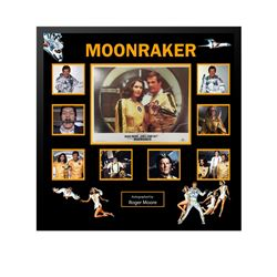 James Bond Moonraker Collage