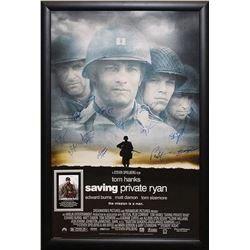 Saving Private Ryan - Signed Movie Poster