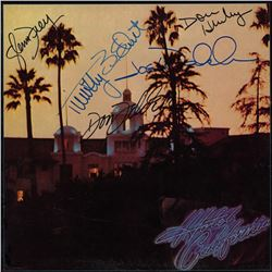 The Eagles Signed Hotel California Album