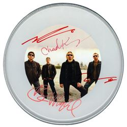 Nickelback Signed Drum Head