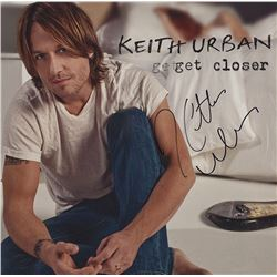 Keith Urban Signed Get Closer Album