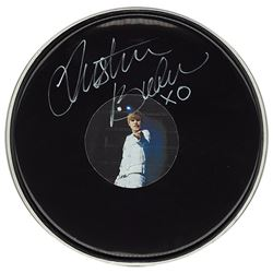 Justin Bieber Signed Drum Head