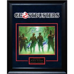 Ghostbusters - Signed by Movie Cast - Framed Artist Serie