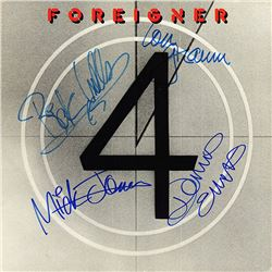 Foreigner Signed 4 Album