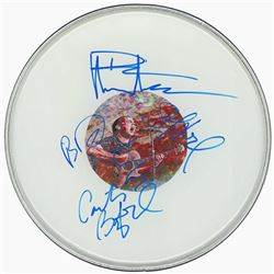 Dave Matthews Signed Drum Head