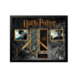 Harry Potter Hogwarts Framed Tie