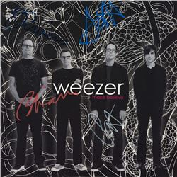 Weezer Signed Make Believe Album