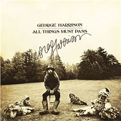 George Harrison Signed All Things Must Pass Album