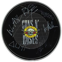 Guns N Roses Signed Drum Head