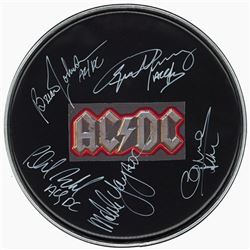 AC/DC Signed Drum Head