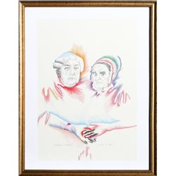 Marisol Escobar, Women's Equality, Offset Lithograph