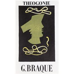 Georges Braque, Theogonie, Lithograph Poster