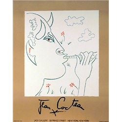 Jean Cocteau, Jack Gallery (Faun), Lithograph Poster