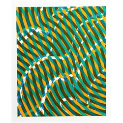 Stanley Hayter, Untitled 1, from the Aquarius Suite, Silkscreen