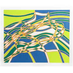 Stanley Hayter, Untitled 3, from the Aquarius Suite, Silkscreen