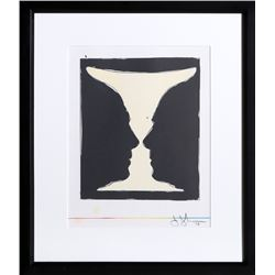 Jasper Johns, Cup 2 Picasso from XXe Siecle, Lithograph