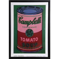 Andy Warhol, Colored Campbell's Soup Can, 1965, Poster