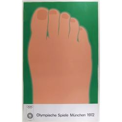 Tom Wesselmann, Olympische Spiele 1972, Lithograph Poster